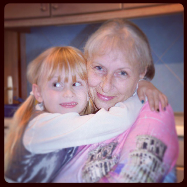 My mom and my daughter #birthday #party