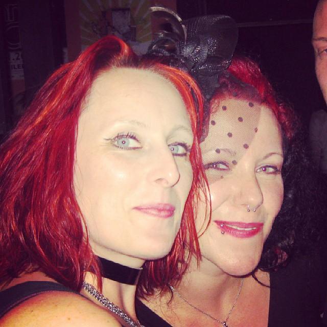 Flashback: Regina Folangi & Anastasia Bieberhausen #bff #nightlife #birthday